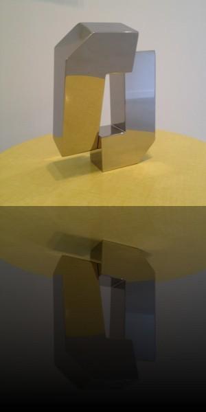 Isabelle De Gouyon Matignon, sculpture acier, 2014