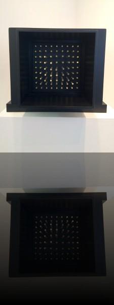 Horacio Garcia Rossi, Lumiere stable, 1964, 50 x 50 x 37 cm