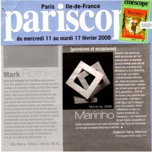 Pariscope-2009