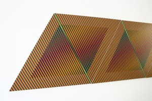 cruz diez color aditivo permutable, 1982