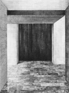 Hall A, 70x50cm, 2014
