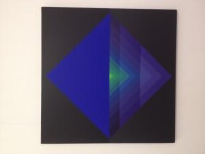 Garcia Rossi, couleur lumière, 2009