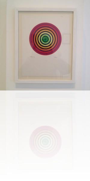 Julio Le Parc, Collage, 1991