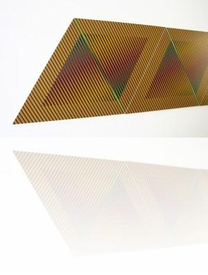 Cruz-diez - Color aditivo permutable, 1982