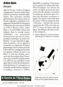 LaGazette-2009