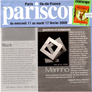 Pariscope-2009