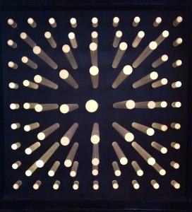 Horacio Garcia Rossi, Lumiere stable, 1964, 50 x 50 x 37 cm (détail)